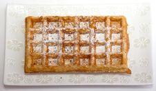 Free Waffles Royalty Free Stock Photo - 6203265