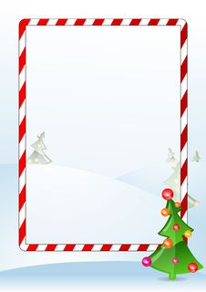 Free Vector Illustration Of A Christmas Greeting Card Stock Photography - 6203322