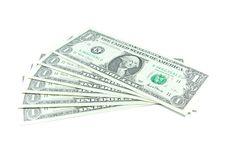 US Dollars Banknotes Stock Photo
