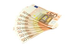 Free Euro Banknotes Value 50 Stock Photography - 6204232