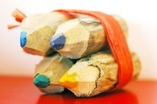 Free Colored Pencils Royalty Free Stock Photography - 6204507