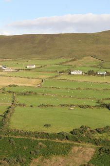 Free Irish Farmland Royalty Free Stock Photos - 6204758