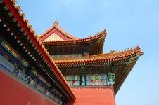 Free Forbidden City Royalty Free Stock Photography - 6205937