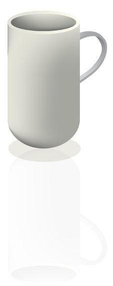 Free Vector Illustration Of Coffee Mug Stock Photos - 6206243
