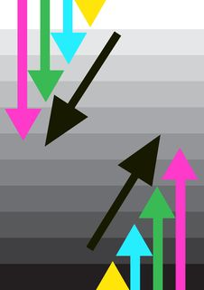Arrows Royalty Free Stock Photo