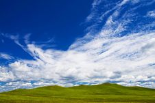 Free Meadow,blue Sky Stock Photos - 6206473