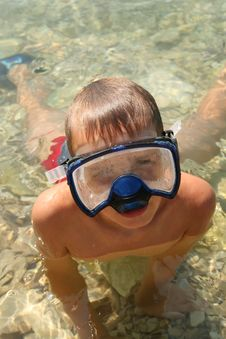 Swimmersdiver Royalty Free Stock Images