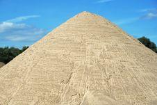 Free Mound Of Sand Royalty Free Stock Photo - 6207215