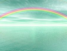 Free Rainbow Landscape Stock Photos - 6207613