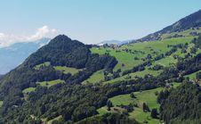Free Swiss Mountain Landscape Royalty Free Stock Photo - 6207965