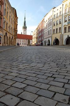 Free Cobblestones In Olomouc Royalty Free Stock Photography - 6209897