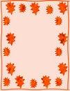 Free Leaf Border Stock Image - 6210231