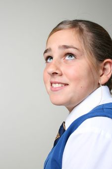 Free School Girl Stock Photography - 6210292