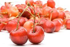 Free Fresh Cherry Royalty Free Stock Image - 6210326