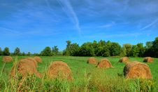 Free Hay In Autumn Royalty Free Stock Image - 6210376