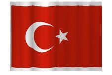 Free Realistic Turkish Flag Stock Images - 6210684