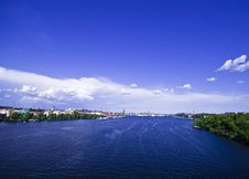 Free View Over City And Water Royalty Free Stock Image - 6210776