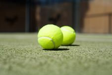 Free Tennis Balls Stock Photos - 6210793