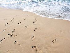 Free Footsteps Stock Photography - 6210952