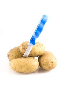 Free Potatoes. Royalty Free Stock Image - 6211036