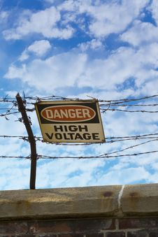Free High Voltage Royalty Free Stock Image - 6211346