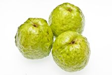 Free Three Guavas Royalty Free Stock Images - 6211479