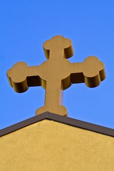 Free Church Cross Stock Photo - 6212090