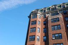 Free Boston Apartment Building Stock Photo - 6212490