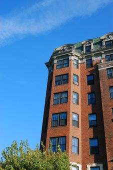 Free Old Boston Apartments Royalty Free Stock Photo - 6212495