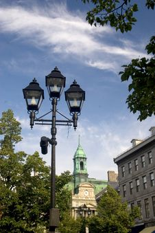 Free Old Montreal In Summer Stock Images - 6212524