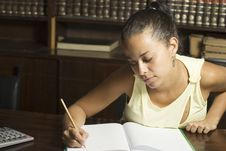Free Student Writing - Horizontal Stock Images - 6213524