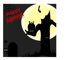 Free Happy Halloween Scene Stock Photography - 6213562