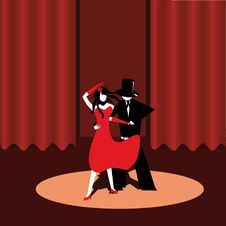 Free Dancers In The Scene Royalty Free Stock Photos - 6213808