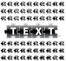 Free Puzzle Alphabet Stock Image - 6213841