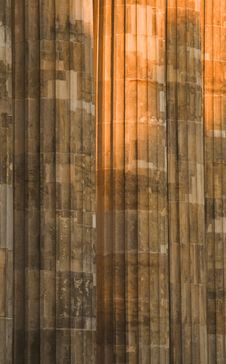 Column Detail Royalty Free Stock Photography
