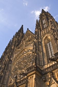 Free St.Vitus Cathedral-Prague Castle Stock Image - 6213901