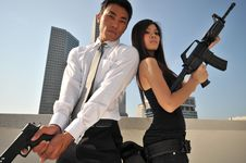 Agent/ Killer 66 Stock Photo