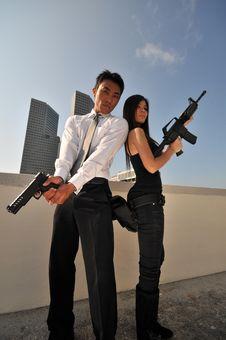 Agent/ Killer 67 Royalty Free Stock Photos