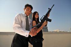 Agent/ Killer 68 Stock Photo