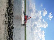 Free SAR Boat On German Sea Stock Image - 6214271