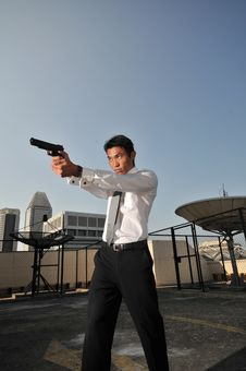 Agent/ Killer 51 Stock Images