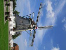 Free German Windmill Stock Photo - 6214380