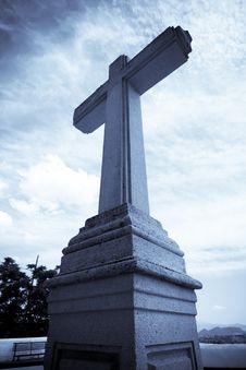 Free Stone Cross Stock Photos - 6215533