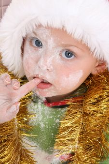 Free Baking Christmas Cookies Stock Photography - 6215912