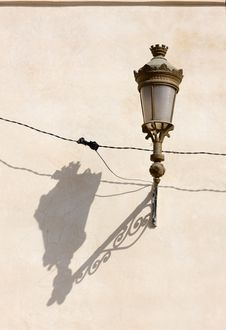 Free Moroccan Lamp And Shadow Stock Images - 6216664