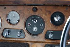 Free Dashboard Control Panel Stock Photography - 6216732