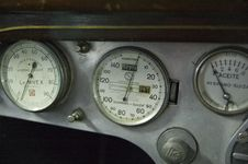 Free Dials On Car Dashboard Stock Image - 6216801