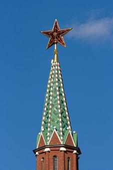 Free Kremlin Tower. Stock Image - 6216861