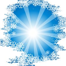 Free Sunny Chrisrmas Background. Stock Image - 6216961