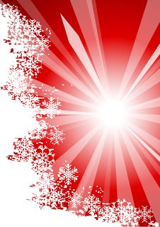 Free Sunny Chrisrmas Background. Stock Images - 6216964